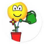 Gardener emoticon   sticker_sheets