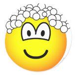 Hair washing emoticon   sticker_sheets