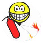 Fire extinguising smile   sticker_sheets