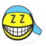 Sleeping cap smile   sticker_sheets