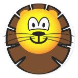 Leo emoticon Zodiac sign  sticker_sheets