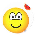 Devil on shoulder emoticon   sticker_sheets