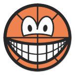 Basketball smile   sticker_sheets