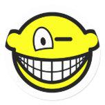 Wink smile   sticker_sheets
