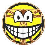 Vitruvian Man smile Da vinci  sticker_sheets