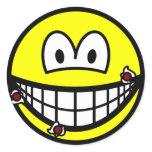 Cut shaving smile   sticker_sheets