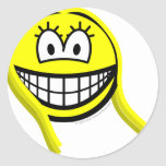 Virgo smile Zodiac sign  sticker_sheets