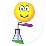 Scientist emoticon   sticker_sheets