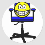 Office chair smile   sticker_sheets