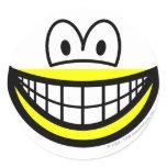 Half smile bottom  sticker_sheets