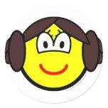 Leia Organa buddy icon   sticker_sheets