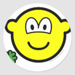 Good luck clover buddy icon Holding  sticker_sheets