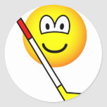 Ice hockey emoticon   sticker_sheets