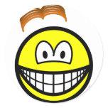 Wig losing smile   sticker_sheets