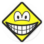 Diamond smile Shape  sticker_sheets
