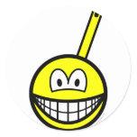 Frying pan smile   sticker_sheets