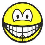 Vagina smile   sticker_sheets