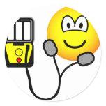 Heart defibrillator emoticon   sticker_sheets
