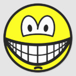 Chin dimple smile   sticker_sheets
