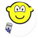 Tv remote buddy icon   sticker_sheets
