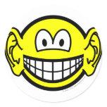 Ears smile Big  sticker_sheets