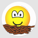 Birds nest emoticon   sticker_sheets