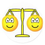 Libra emoticon Zodiac sign  sticker_sheets