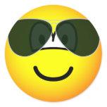 Aviators emoticon Sunglasses   sticker_sheets