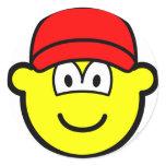Baseball cap buddy icon   sticker_sheets