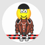 Horse show jumping emoticon Olympic sport Equestrian sticker_sheets
