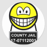 Mugshot smile   sticker_sheets