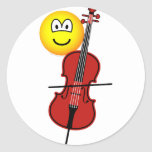 Cello playing emoticon   sticker_sheets