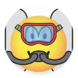 Scubadive emoticon   sticker_sheets