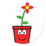 Flowerpot buddy icon   sticker_sheets
