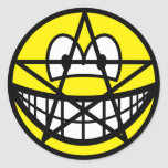 Pentacle smile   sticker_sheets