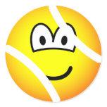 Tennisball emoticon   sticker_sheets