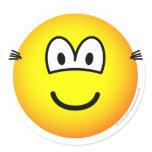 Hairy ears emoticon   sticker_sheets
