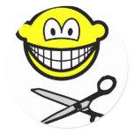 Cutting smile scissors  sticker_sheets