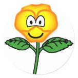 Pansy emoticon   sticker_sheets