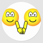 Holding hands emoticons   sticker_sheets