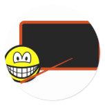 Teacher smile Black board  sticker_sheets