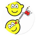 Tattoo artist buddy icon   sticker_sheets