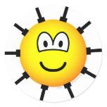 Sea mine emoticon   sticker_sheets