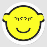 Batting eye lashes buddy icon   sticker_sheets