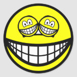 Smile eyed smile   sticker_sheets