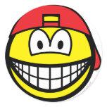 Backward cap smile   sticker_sheets
