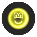 Neon light emoticon   sticker_sheets