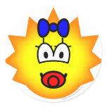 Simpson emoticon Maggie  sticker_sheets