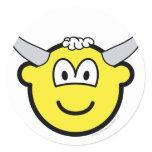 Bull buddy icon   sticker_sheets