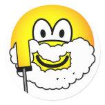 Shaving emoticon   sticker_sheets